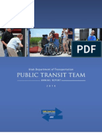 UDOT Public Transit Team Annual Report