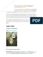 El Agua Regia o Aguafuerte
