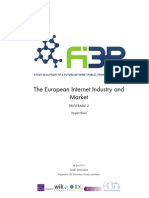 Report - FI3P D2 - Appendix I-II-III - The European Internet Industry & Market - 2009