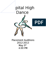 Audition Packet 12-1