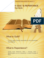 TALK 4 - Guilt and Repentance