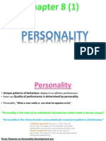 (1) Personality