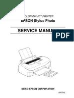 Epson Stylus Photo 700 Service Manual Part 1