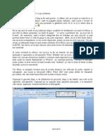 Cum Se Genereaza Automat Cuprinsul in Documentele Word