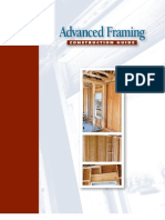 Advanced Framing Construction Guide