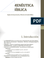 Introduccion Hermeneutica