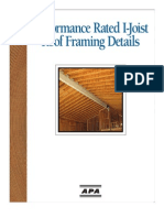 Perfomance Rated I-joits Roof Framing Details