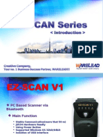 Introduction of EZ SCANERS (2012)