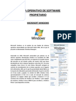 Sistema Operativo de Software rio