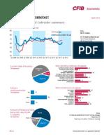 NL Barometer Summary May 1 2012