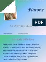 Platone e la dottrina delle idee