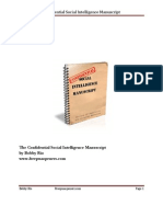 Confidential Social Intelligence Manuscript