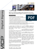 MCP Digital Signage Datasheet-esp v2