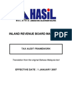 Tax Audit Framework