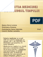 istoriee medicina