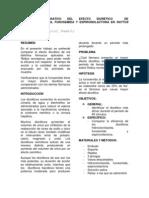 INFORME DE LABORATORIO DIURÉTICOS PRETELL,QUEZADA,RAMÍREZ