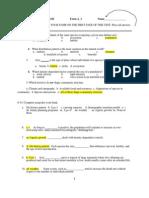 Test 2 Spring 2012 SCI 1101 Form A_1(KEY)