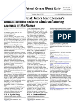 May 1, 2012 - The Federal Crimes Watch Daily