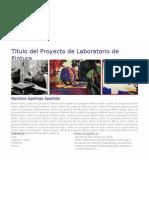 Maqueta Laboratori de Pintura
