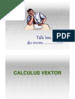Calculus Vektor & Integral Fungsi Vektor [Compatibility Mode]