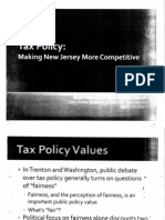 "NJ Treasurer's Presentation on ""Making NJ More Competitive"""
