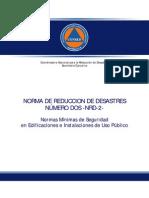 Acuerdo-04-2011-Nrd2 Seguridad en Edificios Publicos