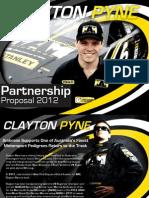 Clayton Pyne - Marcos Ambrose Motor Sport -- PROPOSAL