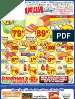 Friedman's Freshmarkets - Weekly Ad - May 3 - 9, 2012