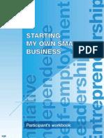A Training Module on Entrepreneurship