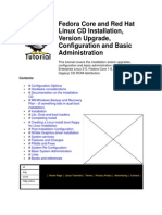 Fedora Core and Red Hat Linux CD Installation