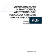 Gas Chromatography in Plant Science Wine Technology Toxicology and Some Specific Applications