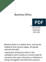 Biz Ethics
