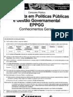 Ceperj 2010 Seplag Rj Especialista Em Politicas Publicas e Gestao Govern a Mental Parte i Prova