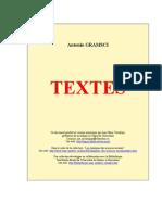 Gramsci, Textes (édition Tosel)