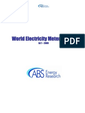 World Electricity Meter Report 2009 | Technology | Energy ... on