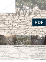 Geological and Physical Principles of Dry Stone Masonry