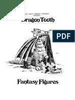 Dragon Tooth 1978 Catalog