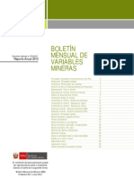 MINEM - Reporte Anual 2010