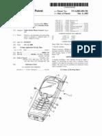 Handset (US patent 6865404)