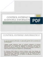 c Interno y Auditoria