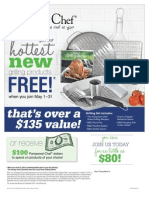 Pampered Chef New Consultant Bonus 2012