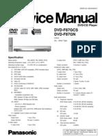 Panasonic Dvd f87