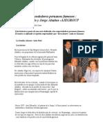 Emprendedores Peruanos Famosos Ananos Ajegroup