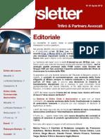 Newsletter T&P N°57