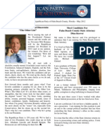 Palm Beach County GOP Newsletter - May 2012