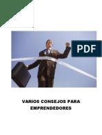 Concejos Para Emprendedores