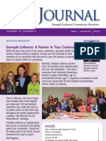 The Journal - Exempla Lutheran's Community Newsletter