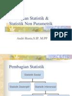 Pertemuan 10 Statistik Non Parametrik