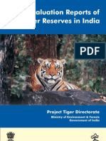 Evaluation Reports of Tiger Reserves in India - Naresh Kadyan