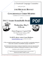 DSCC Senate Roundtable Breakfast Briefing